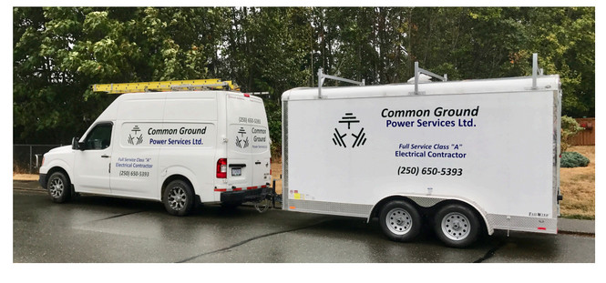 Common Ground Electrical - Comox Valley - Contact Us